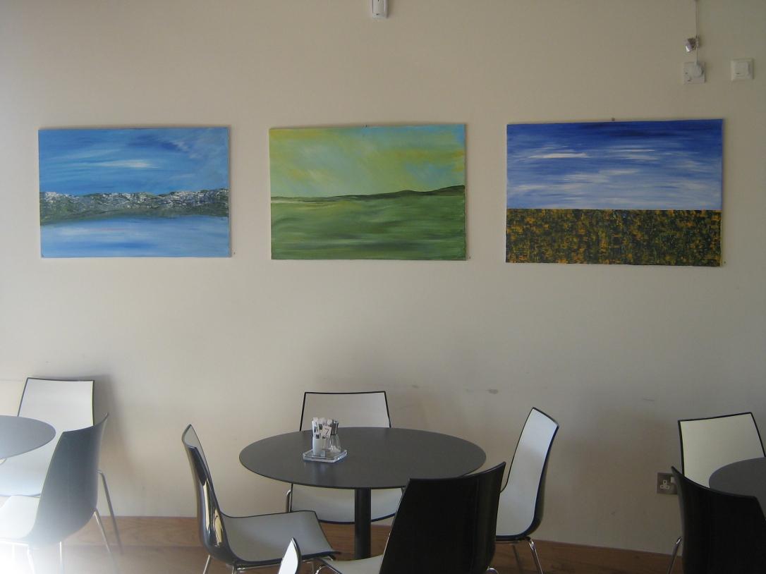 3 Arc Paintings
