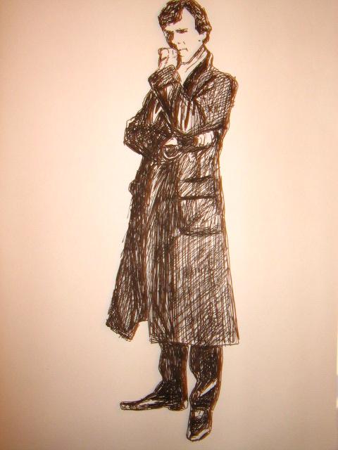 drawing sherlock 007