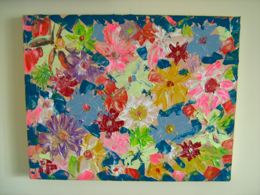 new daisy painting 008